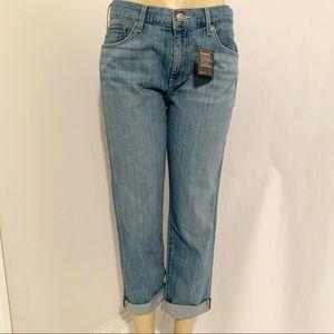 Eddie Bauer Women's Boyfriend Cropped Jeans 6